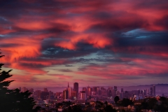 Last Light of Summer Solstice over San Francisco 2