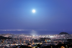 Supermoon Over San Francisco
